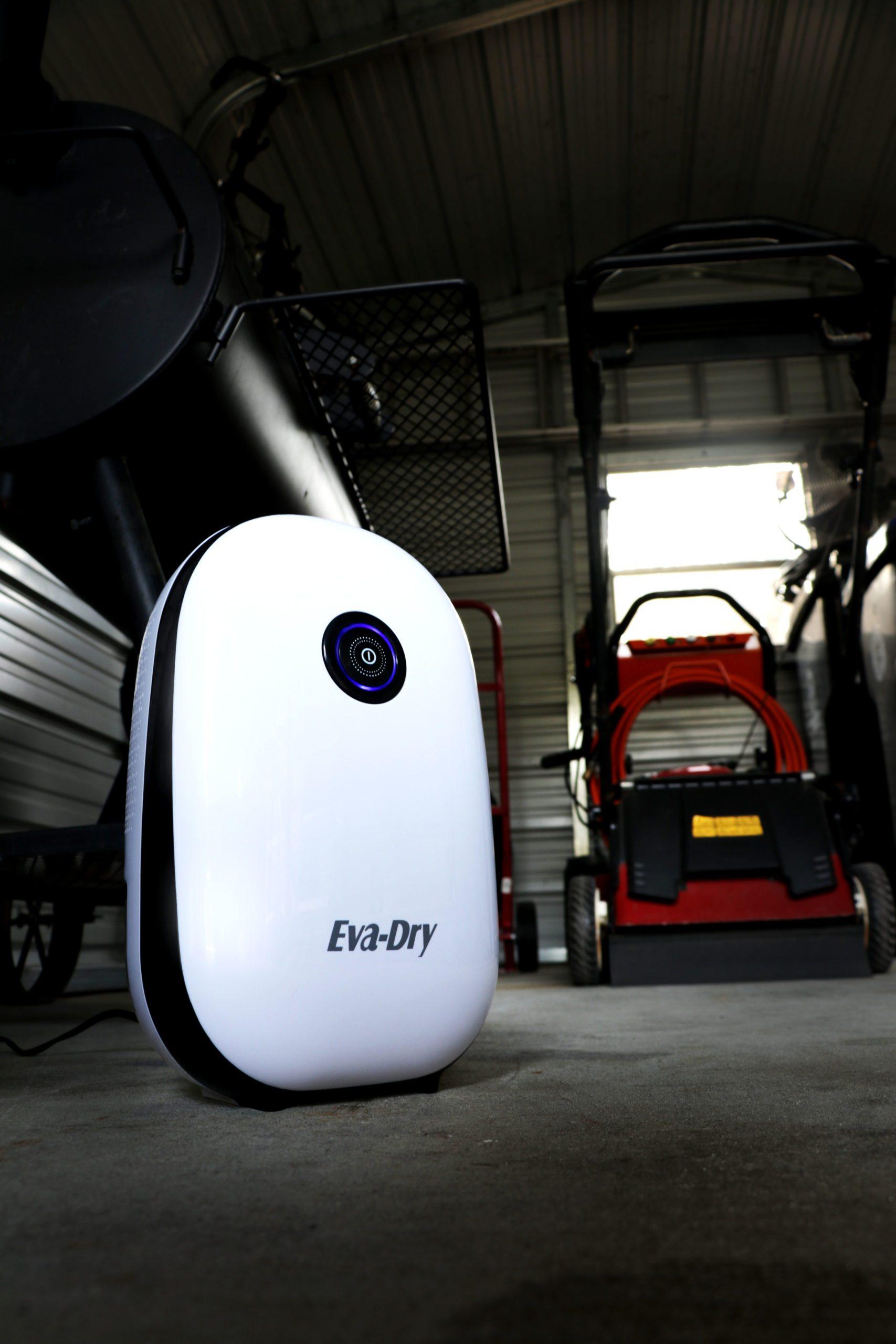 Eva Dry EDV-2500 Mid Size 20.5 Ounce 2,500 Cubic Feet Home Electric Dehumidifier