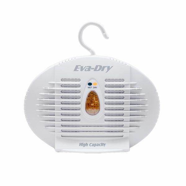 closet smells musty - use a dehumidifier
